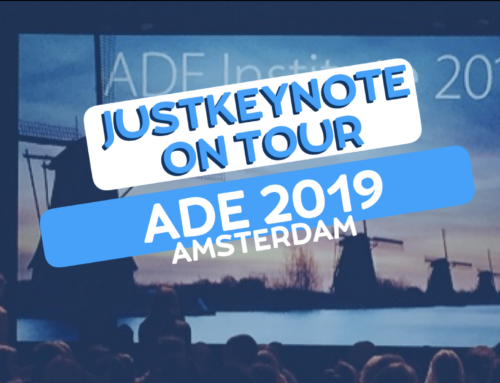 JustKeynote on tour. ADE 2019